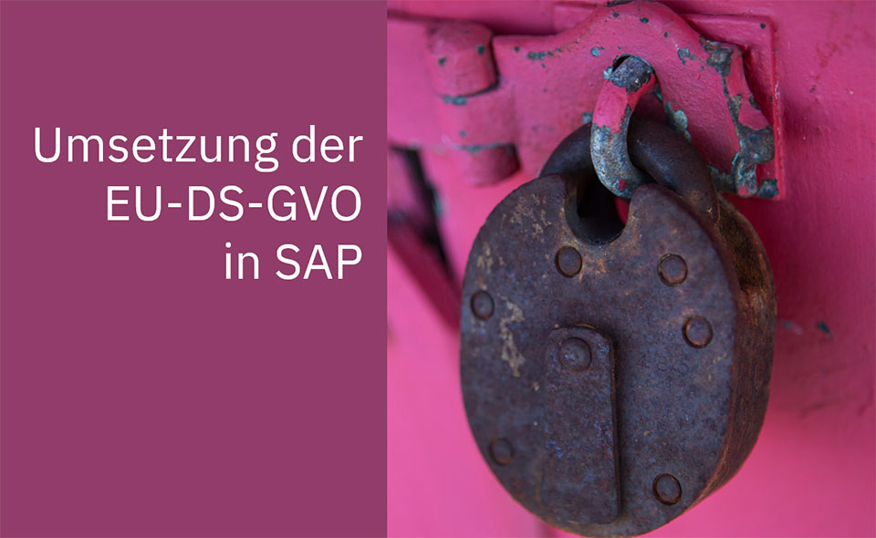 Koester Econsulting Umsetzung DSGVO SAP